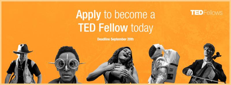 Becas para La Conferencia Anual TED en Vancouver - TEDFellows_2016-800x296