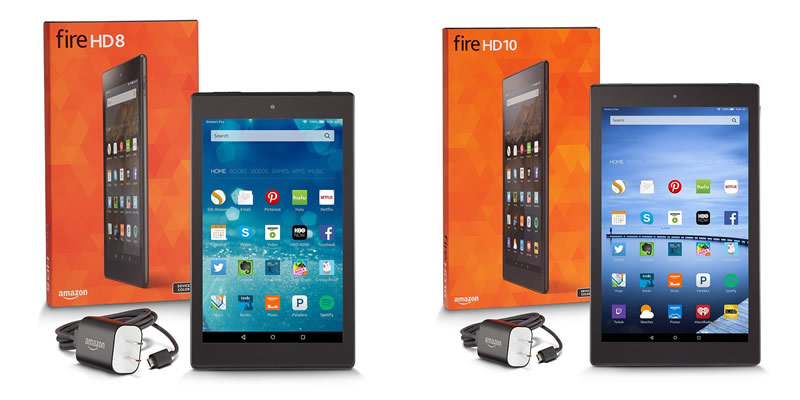 Procesadores de MediaTek alimentan las nuevas tablets de Amazon y el FireTV - Tablet-Amazon-Fire-HD8-HD10