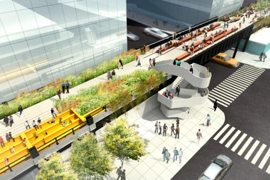 Cuatro tendencias arquitectónicas para las ciudades del futuro - The-High-Line-en-Nueva-York