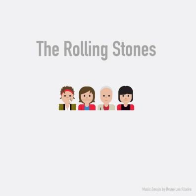 Estrellas de la industria musical se vuelven emojis - The-Rolling-Stones-emoji