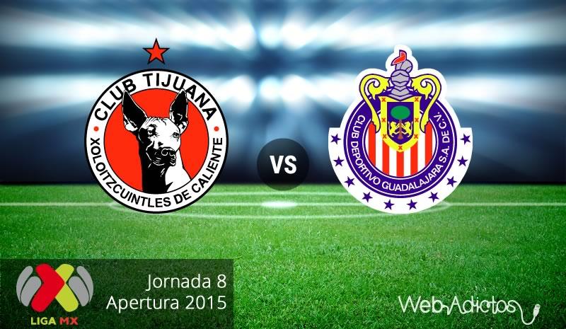 Xolos de Tijuana vs Chivas en el Apertura 2015 ¡En vivo por internet! - Xolos-de-Tijuana-vs-Chivas-Apertura-2015