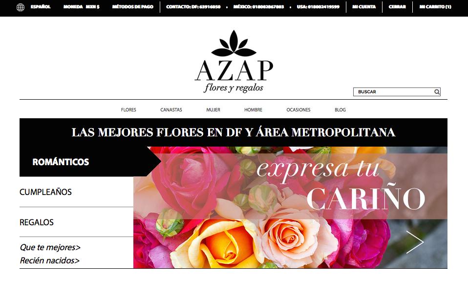 Plataforma online de envío de flores y regalos se expande a Estados Unidos - azapfloresyregalos-enviodefloresjpg