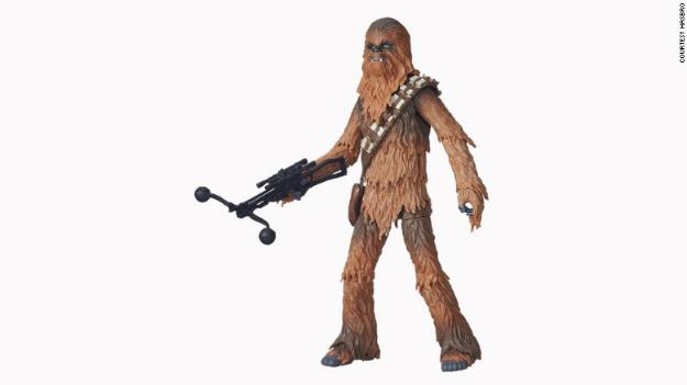 Lanzan la nueva línea de juguetes de 'Star Wars' - star_wars_chewbacca