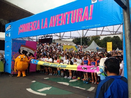 Carrera Cartoon Network reúne cerca de 30,000 personas