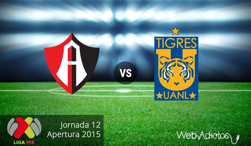 Atlas vs Tigres, Fecha 12 del Apertura 2015 - Atlas-vs-Tigres-Apertura-2015