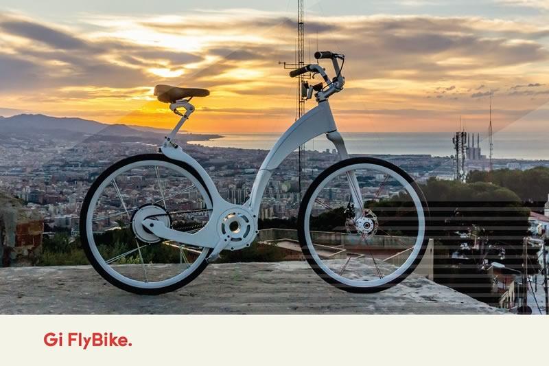Gi FlyBike, la primera bicicleta inteligente plegable del mercado - Gi-FlyBike