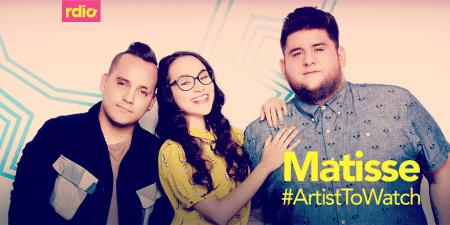 Rdio elige a Matisse como «Artist to watch» de octubre