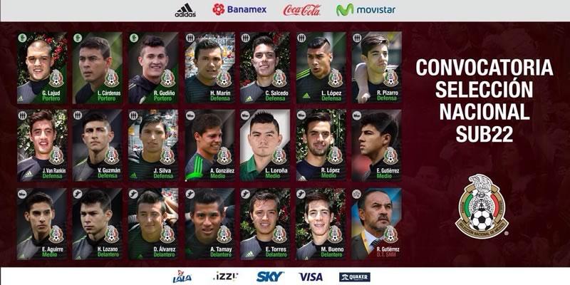 A qué hora juega México vs Costa Rica en el preolímpico 2015 y en qué canal verlo - Mexico-vs-Costa-Rica-Sub-22-Preolimpico-2015