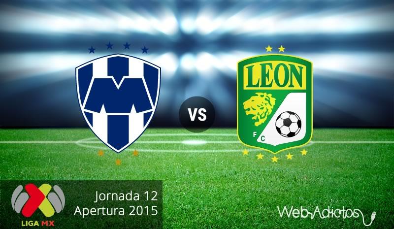 Monterrey vs León, Fecha 12 del Apertura 2015 - Monterrey-vs-Leon-Apertura-2015