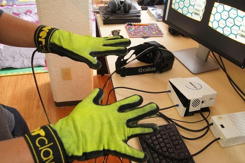 Crean guante que permite sentir frío y calor en las apps de realidad virtual - Power-Claw-guantes-realidad-virtual