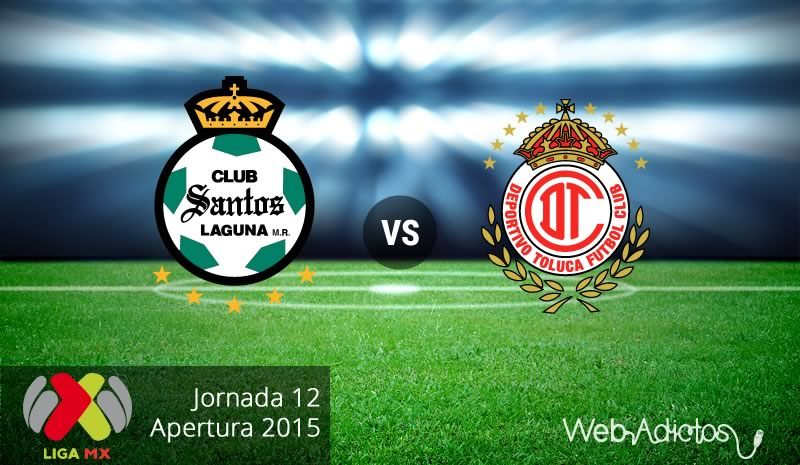 Santos vs Toluca, Jornada 12 del Apertura 2015 - Santos-vs-Toluca-Apertura-2015
