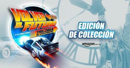 Amazon México celebra el Back to the Future Day con precios que regresan del pasado