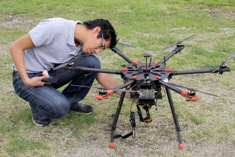 Usarán Drones para detección de incendios y mejora genética de cultivos - drones-para-detectar-incendios