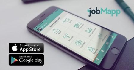 jobMap, una nueva forma de buscar trabajo en México desde tu celular