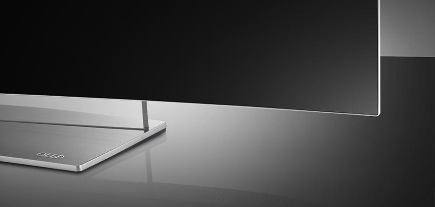 LG presentó contenido HDR en OLED 4K TV - lg-oled-tv_Art-Screen