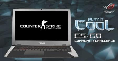 ASUS ROG lanza el reto Play It Cool a la Comunidad Counter Strike: Global Offensive