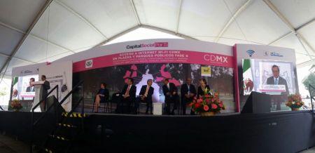 La Ciudad de México se convierte en la ciudad con más sitios públicos WiFi en América Latina