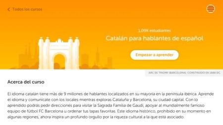 Duolingo lanza curso de catalán en su plataforma