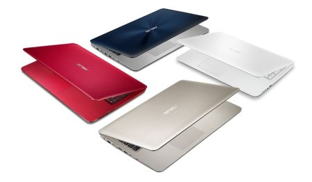 ASUS lanzó su serie X de laptops, ideales para universitarios