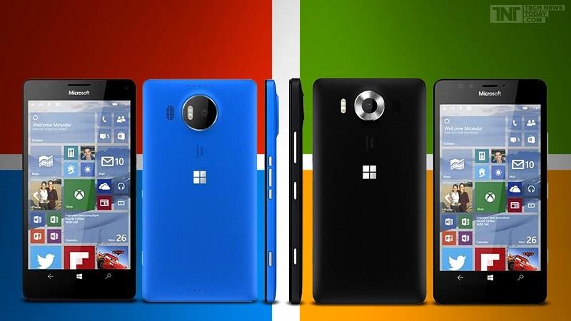 lumia 950 and 950 xl 800x450 Microsoft anuncian Lumia 950, el primer teléfono con Windows 10