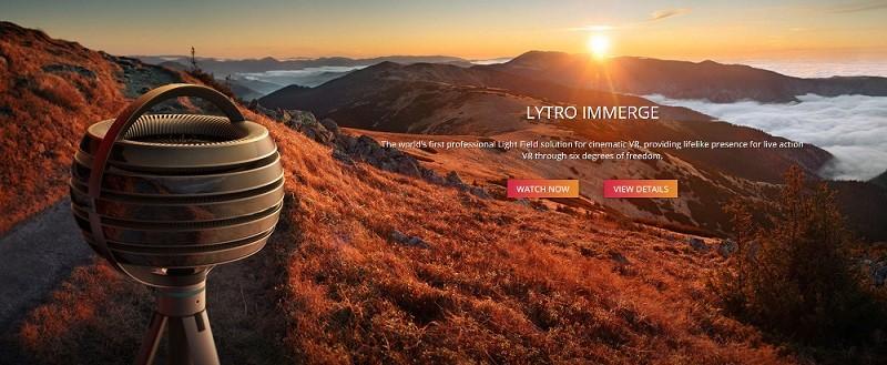 Immerge, la nueva cámara plenóptica para realidad virtual - lytro-immerge-2-800x329