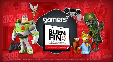 Revelan ofertas del Buen Fin 2015 en Gamers y GamePlanet ¡No te quedes sin jugar!