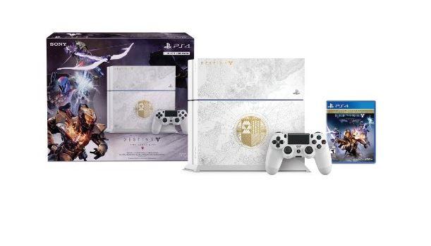 Oferta Buen Fin: PlayStation 4, 500GB, blanco + Destiny: The Taken King en Amazon México - playdestiny
