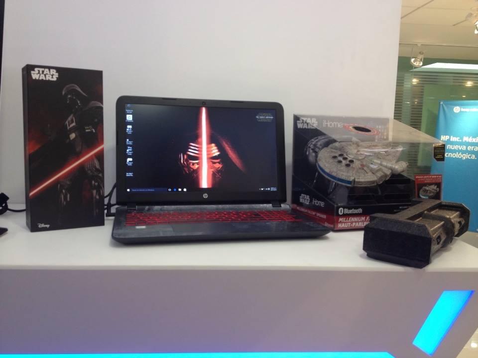 Llega a México la nueva línea de PCs y notebooks HP para Navidad - star-wars-edicion-especial-mexico