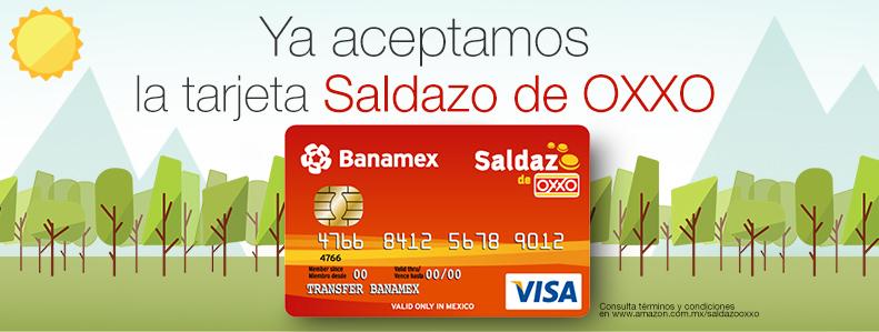 """Amazon México ya permite pagar con las tarjetas """"Saldazo"""" de OXXO - amazon-mexico-tarjetas-saldazo"""