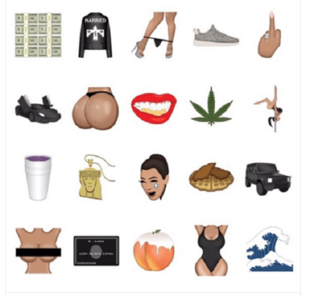 Kim Kardashian lanza KIMOJI, su propia colección de emojis