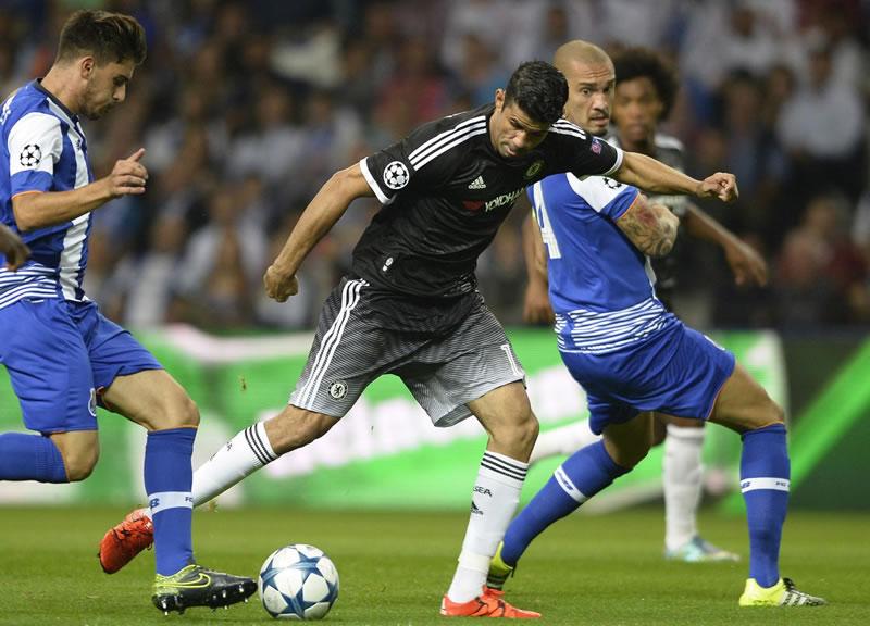Chelsea vs Porto en la Champions League 2015 - 2016 ...