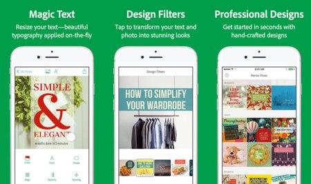 Crea imágenes para Facebook y otras redes con Post, la nueva app de Adobe para iPhone