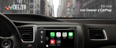 Deezer expande su presencia en autos con la integración de apple Carplay