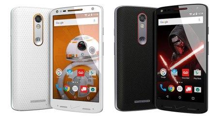 Verizon y Motorola presentan edición de Star Wars del Droid Turbo 2