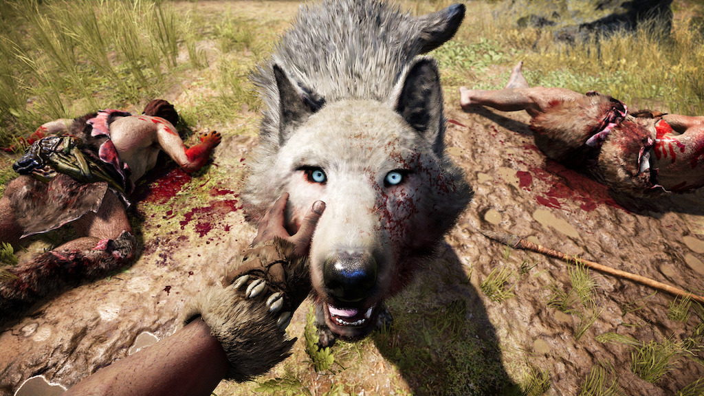 Far Cry Primal libera The Beast Master - far-cryr-primal-the-beast-master_wolf