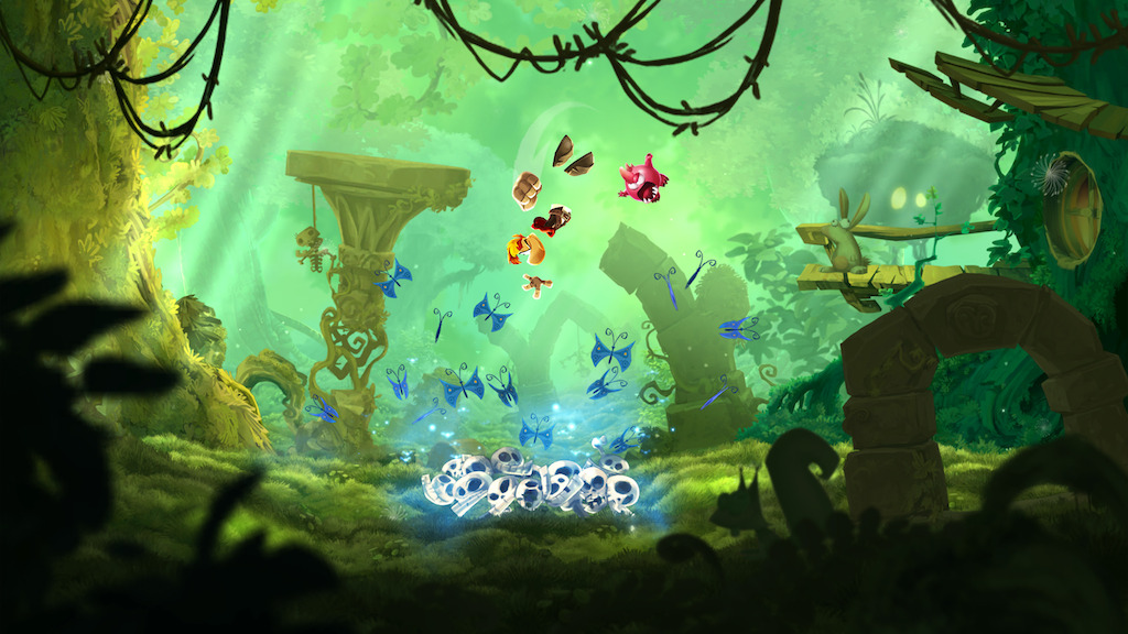 Ya disponible Rayman Adventures para smartphones y Tablets - forest_rayman