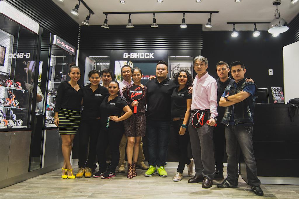 G-Shock abre en México su primer G-Factory - g-shock-gfactory-cancun