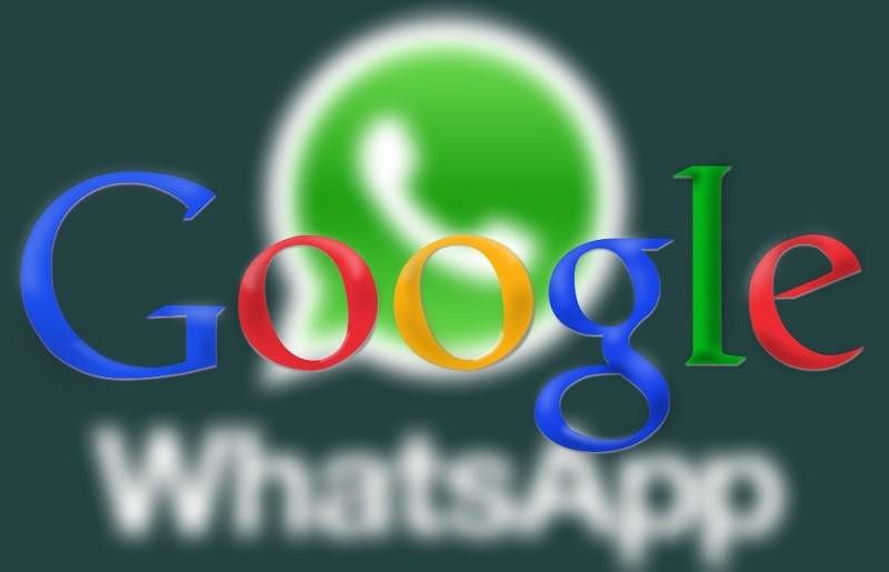 google whatsapp 800x515 Google prepara nueva app de mensajería para competir con WhatsApp