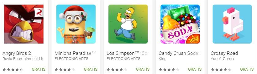 Google Play revela las mejores apps y juegos de 2015 - juegos-casuales