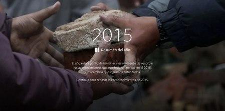 Lo más popular en Facebook durante 2015