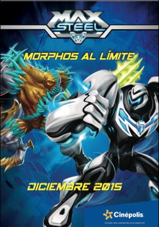 Max Steel protagoniza Morphos al límite en exclusiva en Cinépolis - max-steel-norphos-al-milite