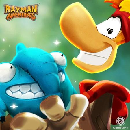 Ya disponible Rayman Adventures para smartphones y Tablets