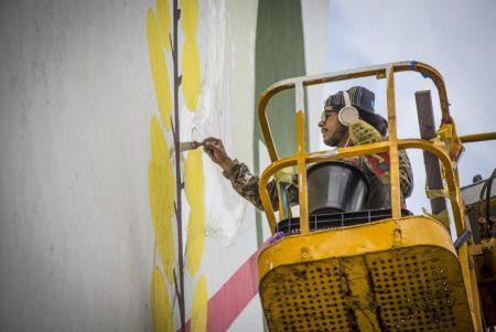 Seherone lleva su trabajo al festival de street Art Sbagha Abagha en Marruecos