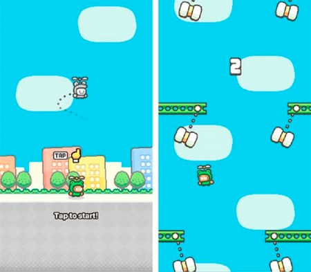 Swing Copters 2, el nuevo juego del creador de Flappy Bird