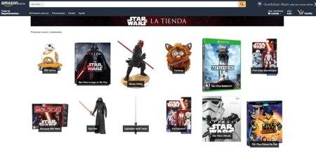 Amazon México lanza su tienda especial de Star Wars