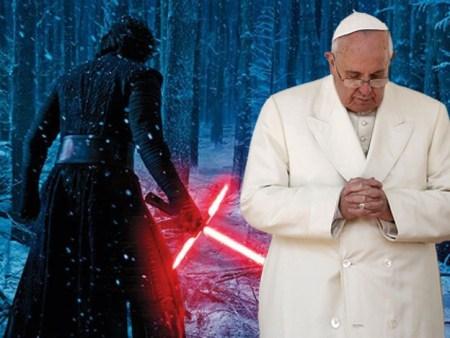 """Diario de El Vaticano lanza fuerte crítica a """"Star Wars: The Force Awakens"""""""