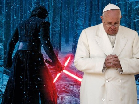 "Diario de El Vaticano lanza fuerte crítica a ""Star Wars: The Force Awakens"""