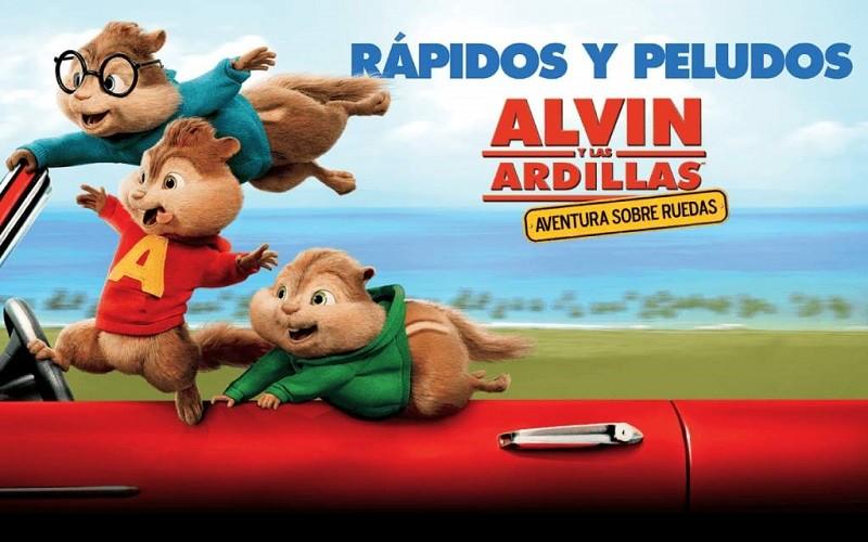 Estreno de 'Alvin y las Ardillas' logra superar al de 'Star Wars' en México - alvin-y-las-ardillas-aventura-sobre-ruedas-800x500