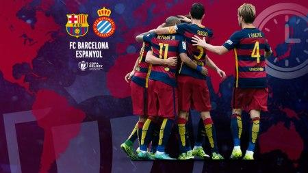 Barcelona vs Espanyol, Octavos de final de la Copa del Rey [Partido de ida]