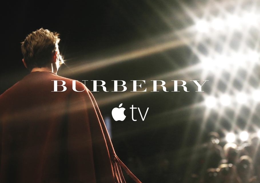 Burberry anuncia sus logros digitales - burberry-launches-on-apple-tv